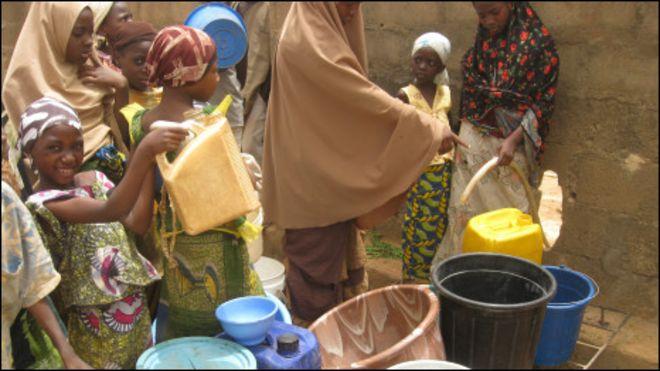 Nijerya'da bir köy