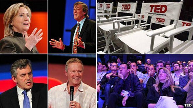 Fragmentos de conferencias TED