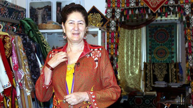 Как шить платье таджикский