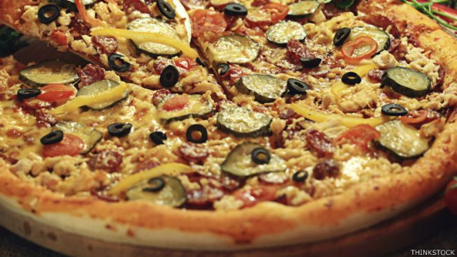 Como hacer pizza americana sin horno