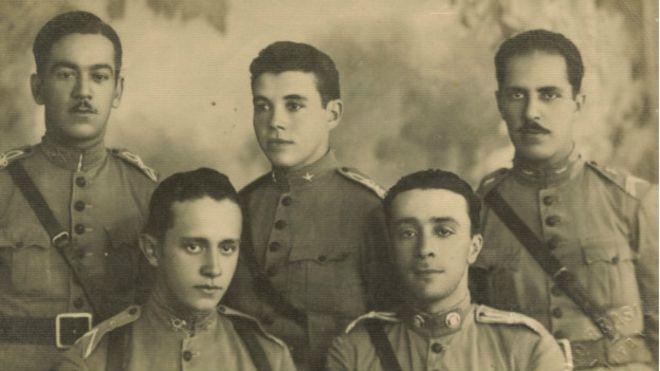Soldados brasileiros na Primera Guerra Mundial