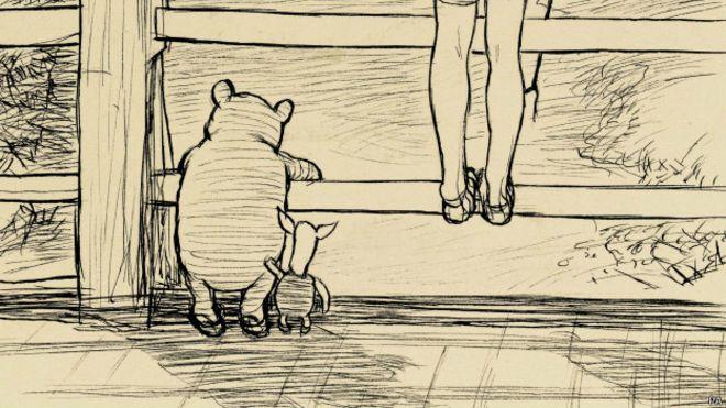 Subastan dibujo de Winnie the Pooh por casi medio millón de dólares ...