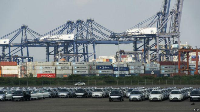 Container en Mexico