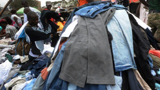 b631e0c2c010 El negocio global de la ropa de segunda mano - BBC News Mundo