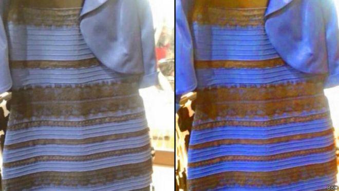 Загадки какого цвета платье