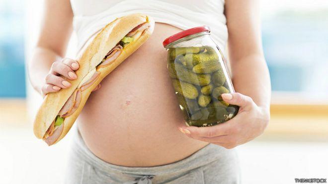 El es picante durante embarazo comer malo