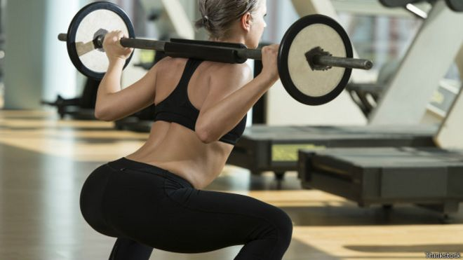 Para ejercicios gluteos prensa