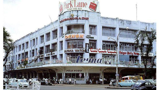 Bản quyền hình ảnh vietnam archives Image caption Một góc phố Sài Gòn ...