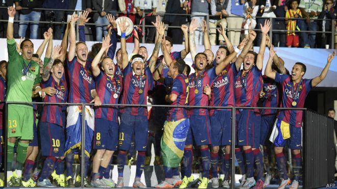 66a44d0975ba4 El Barcelona gana la Champions League - BBC News Mundo