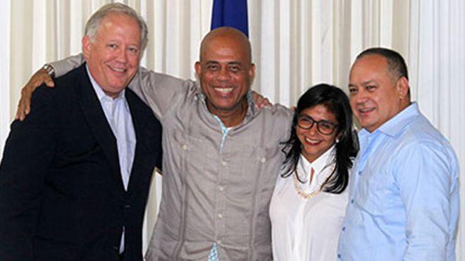 Delegados en Haití