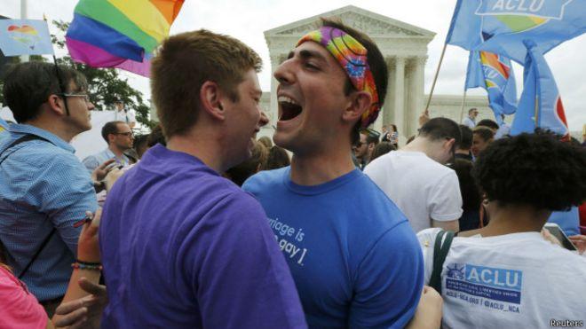 Matrimonios homosexual en estados unidos