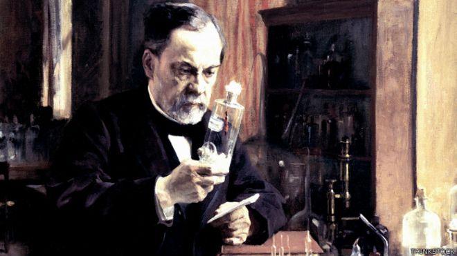Resultado de imagen para Fotos de Louis Pasteur y la vacuna contra la rabia