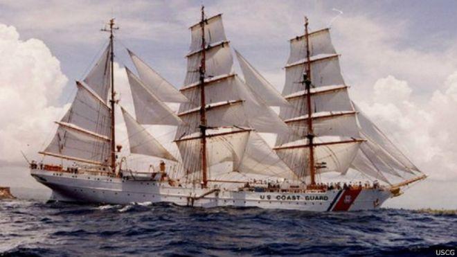 Por qué Estados Unidos sigue utilizando un buque escuela nazi  - BBC ... 1a7a3e16c9e