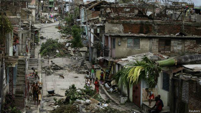 Santiago de Cuba tras el paso de Sandy