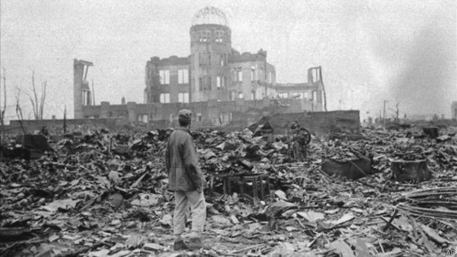 Resultado de imagen para bomba atomica hiroshima