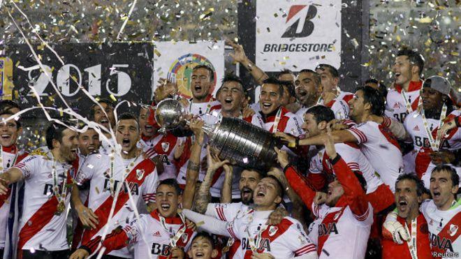 Resultado de imagen para copa libertadores 2015 river plate