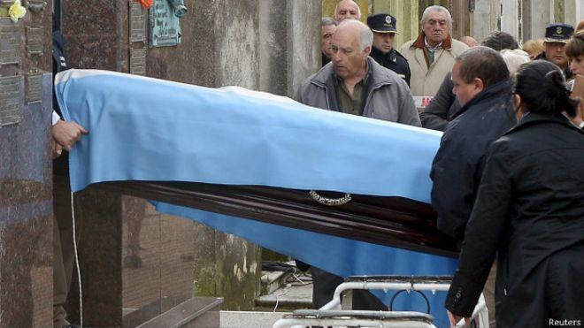 Exhumación de Fangio