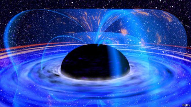 Resultado de imagen de El final del Universo un inmenso agujero negro