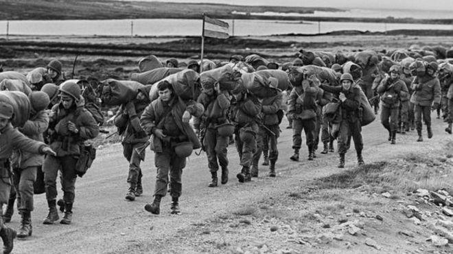 Resultado de imagem para Guerra das Malvinas