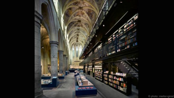 Sepuluh toko buku tercantik di dunia