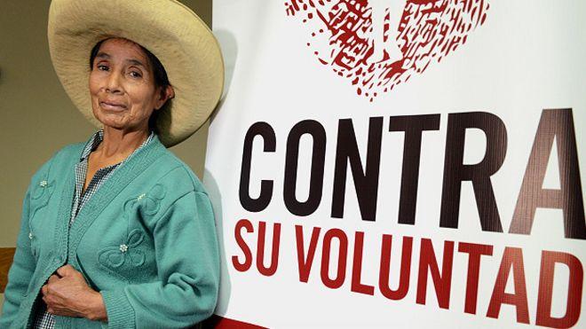 Resultado de imagen de esterilizacion mujeres peruanas