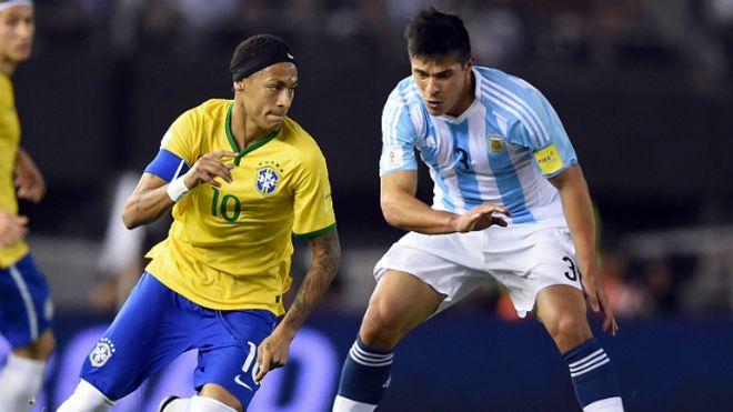 317b1af33 Eliminatorias a Rusia 2018  Argentina no pasa del empate ante Brasil ...