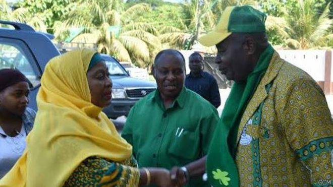 CCM: Jiwekeni tayari kwa uchaguzi Zanzibar - BBC News Swahili