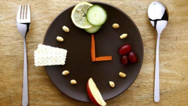 Horario de una dieta para adelgazar
