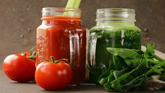 Dieta de jugos detox