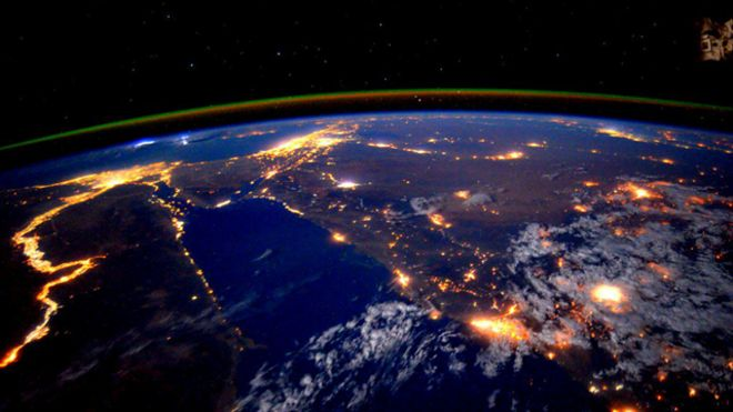 Las impresionantes fotos de la Tierra tomadas por el astronauta