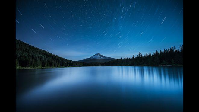 Polaris sobre el Monte Hood, Garrett Suhrie