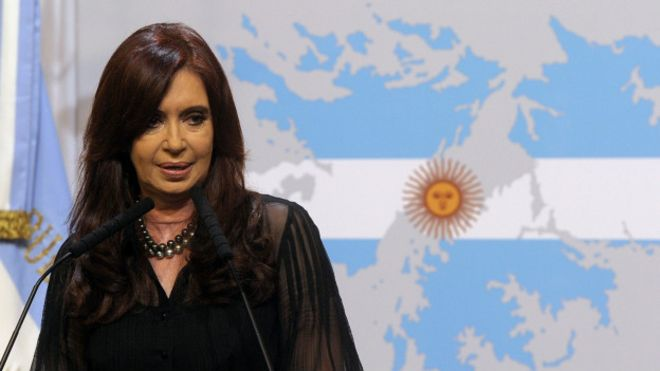 Resultado de imagen de cristina fernandez argentina