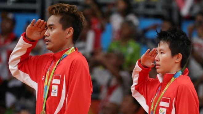 Liliyana-Tontowi tunjukkan  arti toleransi  di Olimpiade Rio - BBC ... ca39810fea