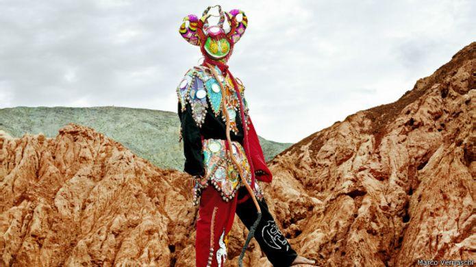 Diablo de carnaval en Argentina