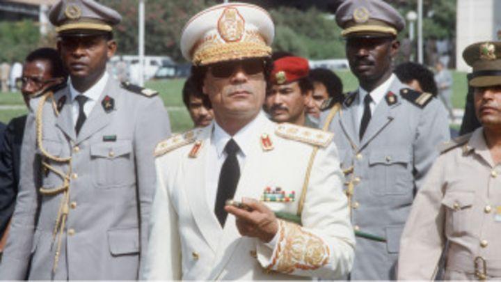 Kaddafi,  Afrika Bankası kurma süreci ile ilgili görsel sonucu