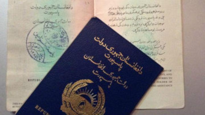 سایز عکس پاسپورت افغانی