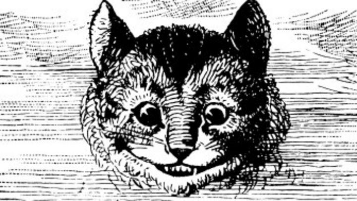 Sonriente Disfraz Del Gato De Alicia Para Niño - Niños Relacionados