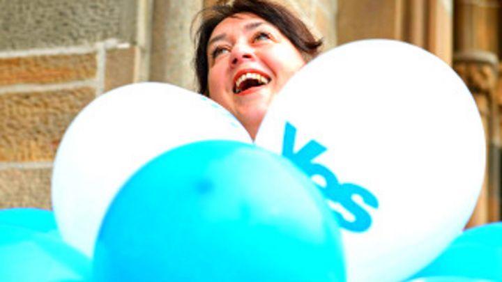 4103c2e357 ¿Qué pasa si gana el Sí en Escocia? - BBC News Mundo