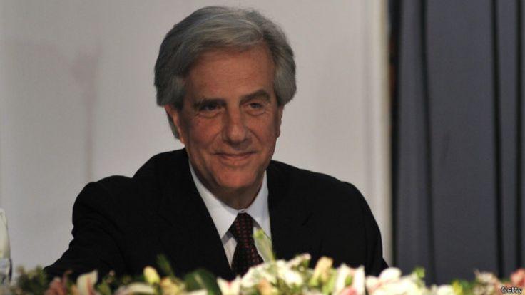 Presidente electo uruguayo, Tabaré Vázquez.
