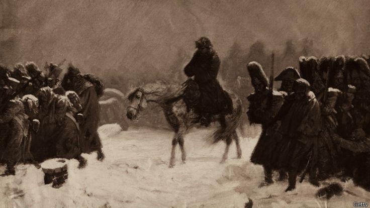 Отступление армии Наполеона из Москвы