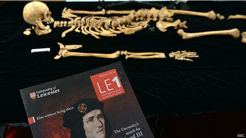 Los arqueólogos certificaron que Ricardo III sufrió hasta 11 heridas antes de morir.