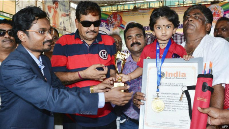 Dolly Shivani Cherukuri India record arco