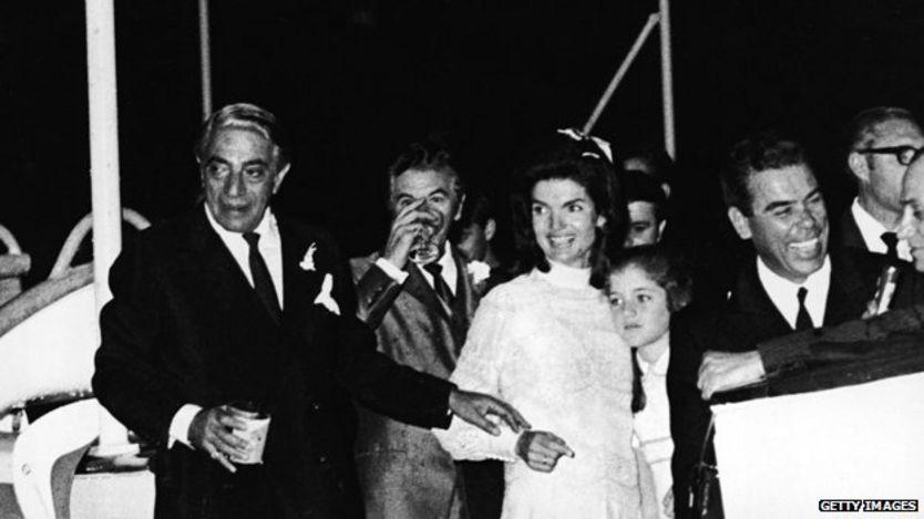 Boda Aristotle Onassis y Jackie Kennedy