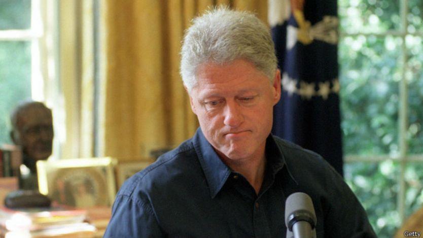 Bill Clinton en 1999