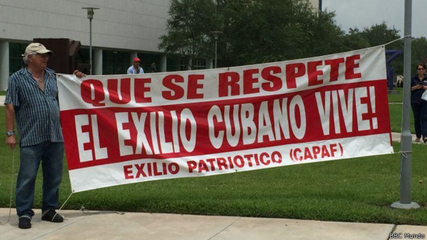 Protestas en FIU