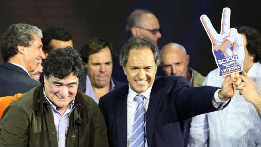 Carlos Zannini y Daniel Scioli