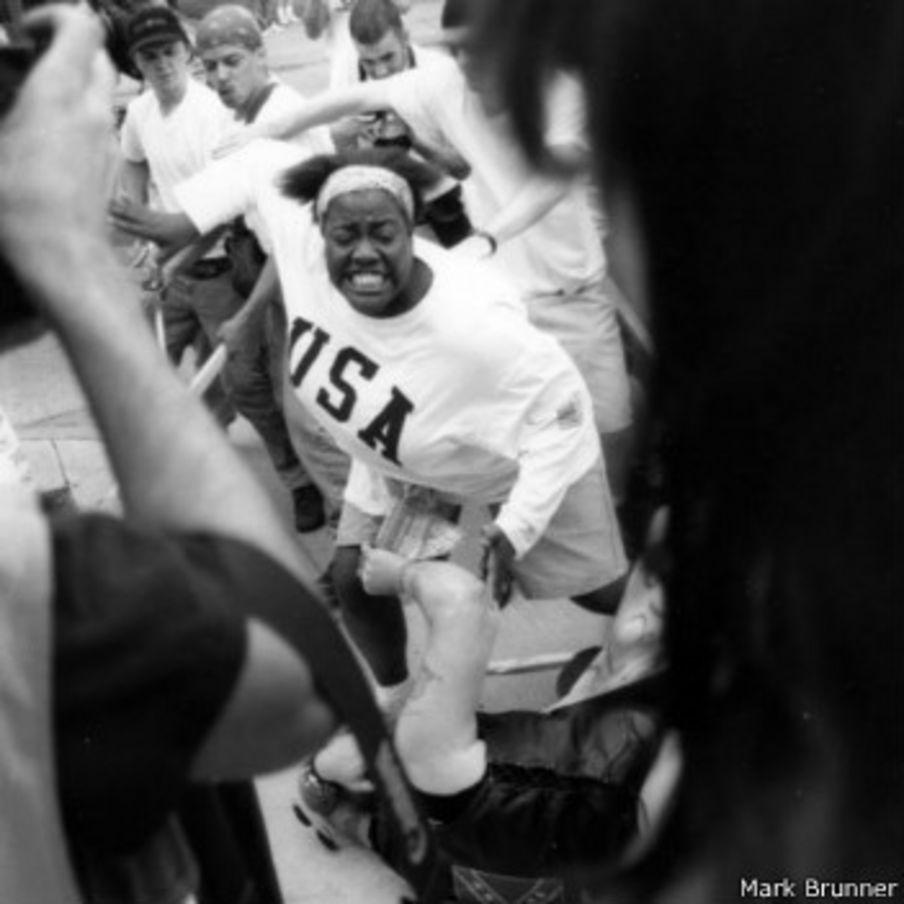 La joven negra que salvó a un racista