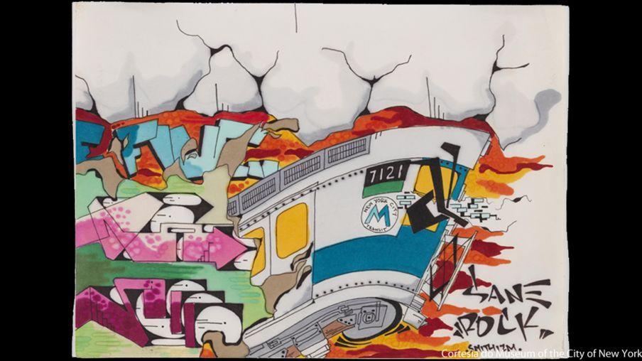 'Cidade como tela': a explosão do grafite em NY