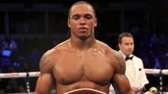 Boxer Anthony Yarde