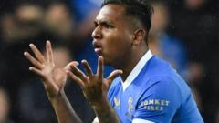 Gerrard says Morelos must rediscover scoring touch as Rangers seek to revive European campaign